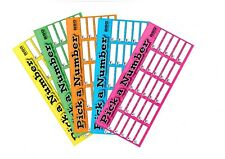 Pick a Number 1-25 - Fundraising 10 Pack bundle