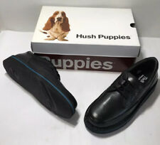 Hush Puppies H18914 Mall Walker Black Leather Men's Dress Shoes Size 8 Medium