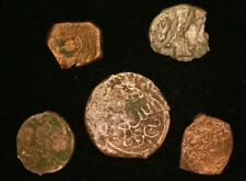Lot 5 X Ancient Islamic Medieval Coins - Good Condition