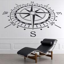 Kompas navigatie Zeevaart Muursticker WS-19147