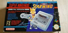 *  Super Nintendo * Starwing Pack * Boxed SNES console * PAL UK Set *