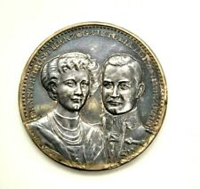 Medaille Thronbesteigung 1913 Ernst August u. Victoria Luise