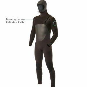 Men's VISSLA 7 Seas 5/4 Hooded Wetsuit - MEDIUM