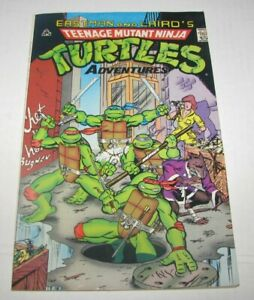 EASTMAN AND LAIRD'S TEENAGE MUTANT NINJA TURTLES ADVENTURES (1988) 7th Print VG