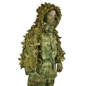"""Disguise Mesh Ghillie Sniper Coat """"Forester"""" 3D Spring for Military / Airsoft"""