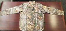 Under Armour Camo Hunting Fishing Long Sleeve Button Down Shirt Realtree Large L