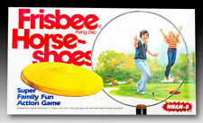 Wham-O Frisbee Horse-Shoes Action Game  Factory Sealed Cellophane Never Opened