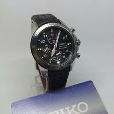 Seiko Sportura SNAE65P1 Wrist Watch for Men  Alarm Chronograph AS IS