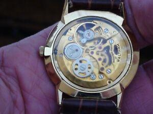 Vintage Men's Wristwatch Skeleton Mens Wrist Watch Waltham Royal
