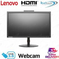 Lenovo ThinkVision T2224z 21.5-inch WVA LED Backlit LCD HDMI Monitor Webcam B