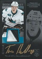TOMAS HERTL 13/14 PANINI CONTENDERS AUTO ROOKIE TICKET PATCH RC 6/100