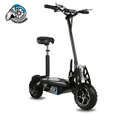 Pit Bike Electric Scooter 1600W 48V 12 Inch Big Tyres Light off Road.