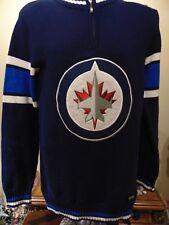 Winnipeg Jets NHL 1/4 Zipper pullover Sweater Men's Small