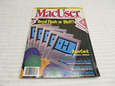 MACUSER MAGAZINE DECEMBER 1987 GUC