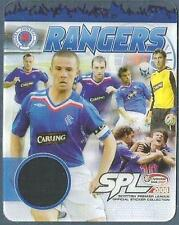PANINI SCOTTISH PREMIER LEAGUE 2008- #K-RANGERS TRANSPARENT CARD
