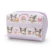 Kuromi Sanrio Cosmetics Case Cosmetic Bag (M Size) Cute Kawaii Free Shipping