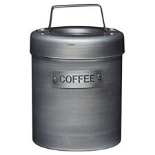Kitchencraft Industrial Kitchen Vintage-style Metal Coffee Canister, 1 L (1.75