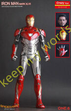 Crazy Toys Super Hero Movie Homecoming Iron Man MK47 1/6TH Action Figure/Statue
