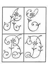 2 crinolina señora y Flores Bonitas Vintage Visage hierro en la transferencia de bordado