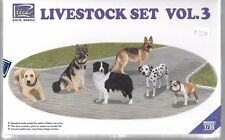 Riich Models, Livestock Set Vol. 3, DOGS  in 1/35 021  ST