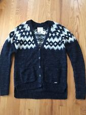 Abercrombie & Fitch Ladies M Sweater Cardigan Navy New With Tag