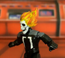 Mega Construx Custom Ghostrider Head