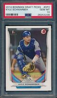 2014 Bowman Draft Picks Kyle Schwarber Prospect #DP2 PSA 10 Gem Mint (Quantity)