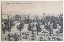 Esperanto – ak 5-a Universala Kongreso barcelona 1909 – placo de katalunujo