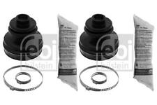 2x CV Boot Driveshaft Rubber Front/Gearbox for SEAT CORDOBA 1.4 94-02 6K Febi