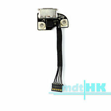 Power Jack Board Cable Socket Connector For Macbook Pro A1278 A1286 820-2565-A