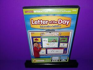 iLakeshore Interactive Whiteboard Software Letter Of The Day PC CD ROM B472