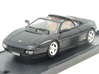 Bang Models Diecast 8003 Ferrari 348 TS Stradale Black 1 43 Scale Boxed