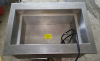 Hatco One Pan Drop In Refrigerated Cold Food Well CWB-1 Countertop Cooler Fridge