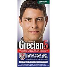 Grecian5 for Men, 5 Minute Permanent Shampoo-In Haircolor, Dark Brown