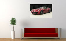 "FERRARI 599 GTO RED PRINT WALL POSTER PICTURE 33.1"" x 20.7"""