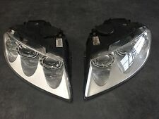 2 x New Genuine VW Touareg 03-07 Right & Left Xenon Headlights