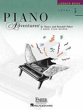 NEW Level 5 - Lesson Book: Piano Adventures (The Basic Piano Method)