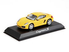 Porsche Model cars of Cayman S Yellow 1:43 WAP0200310D