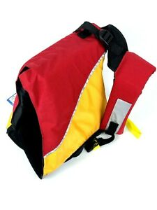 MTI UnderDog Pet Life Jacket - XL Mango/Red