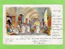 More details for tunis souks chromo tunisia pc used 1901 to berlin germany