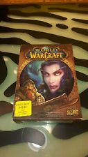 World of Warcraft 2004 Good Condition in Box PC Game Blizzard