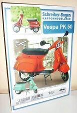 + KARTONMODELLBAU  VESPA PK 50 Motorroller  SCHREIBER-BOGEN  780