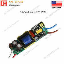 20-36x1W Constant Current High Power Supply LED Driver For Light DC 60-120V 0.3A