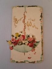 """VINTAGE CHRISTMAS GREETING CARDS """"BEST WISHES AND GOOD WISHES"""""""
