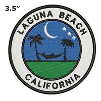 Laguna Beach California Embroidered Patch Iron / Sew-On Souvenir Gear Applique