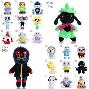 Undertale Papyrus Sans Temmie Soft Plush Car Toy Asriel Stuffed Doll Animal Gift