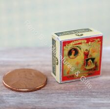 Dollhouse miniature food 1:12 Vintage Replica 1895 Butterscotch Tin NEW