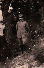 FOTO MILITARE REGIO ESERCITO - FANTERIA A CESANA TORINESE - 1915 - WWI  C5-917