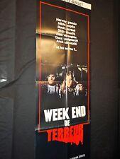 WEEK-END DE TERREUR ! affiche cinema