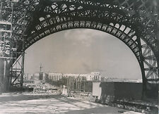 PARIS c. 1937 -  Travaux Exposition Chantier Palais de Chaillot  - DIV 7375